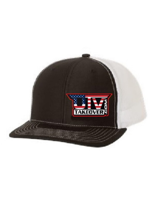 2020 - Hat - Trucker (BLACK AND WHITE WITH USA LOGO)