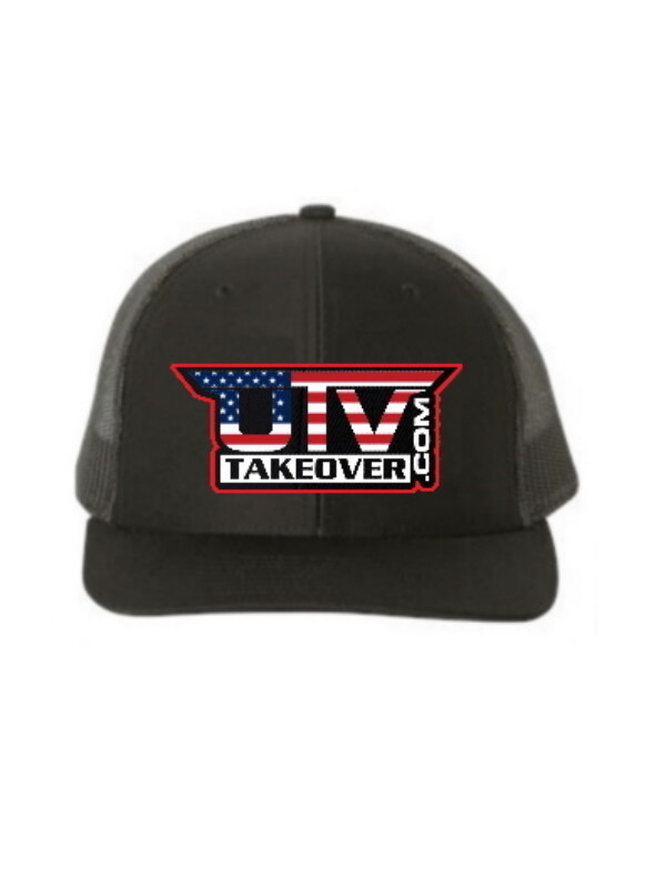2020 - Hat - Trucker (BLACK WITH USA LOGO)