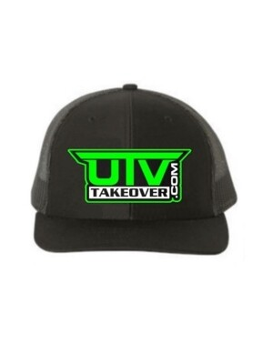 2020 - Hat - Trucker (BLACK WITH GREEN LOGO)
