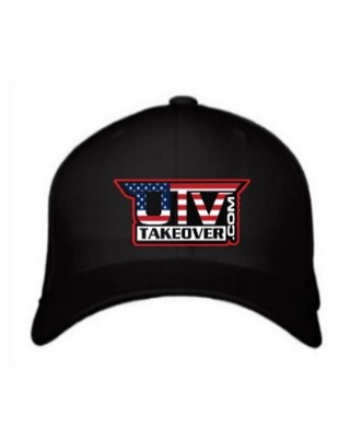 2020 - Hat - Flex Fit (BLACK WITH USA LOGO)