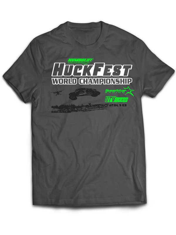 2018 - HuckFest - T-SHIRT (GRAY)