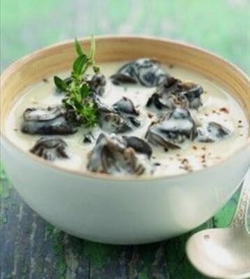 Cassolette escargot champignons crème ail