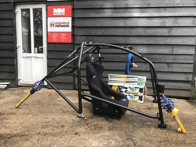 Enduro KA Safety Devices Roll cage
