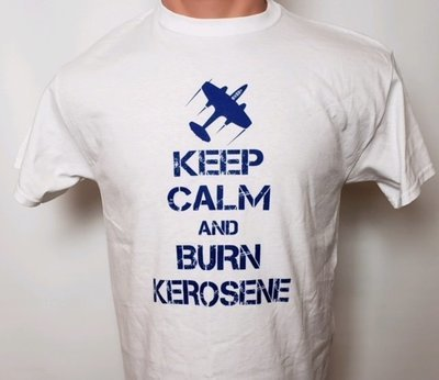 T-SHIRT - KEEP CALM AND BURN KEROSENE
