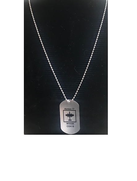 DOG TAGS - Meteor T7 - WHAM OSH18