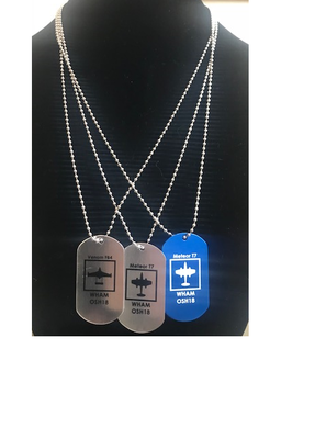 DOG TAGS - SET OF THREE