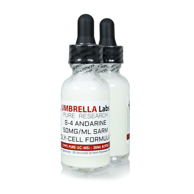 S-4 ANDARINE SARM 50MG/ML - 30ML BOTTLE