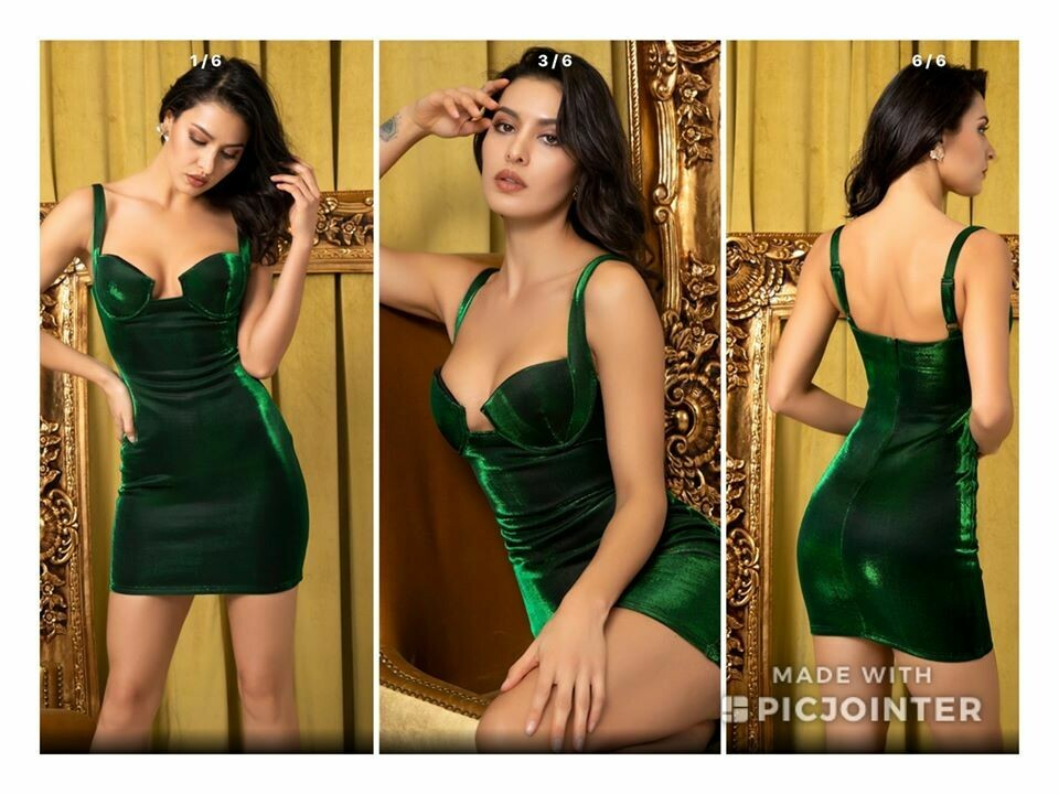 Green Fashion Dress