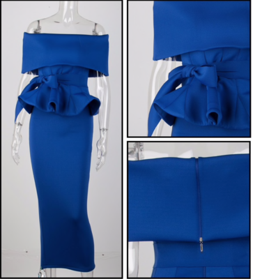 Two Piece Scuba Dress