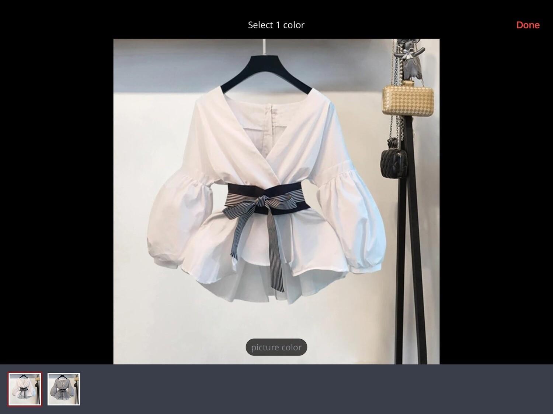 Polka Dot Long Sleeved Top