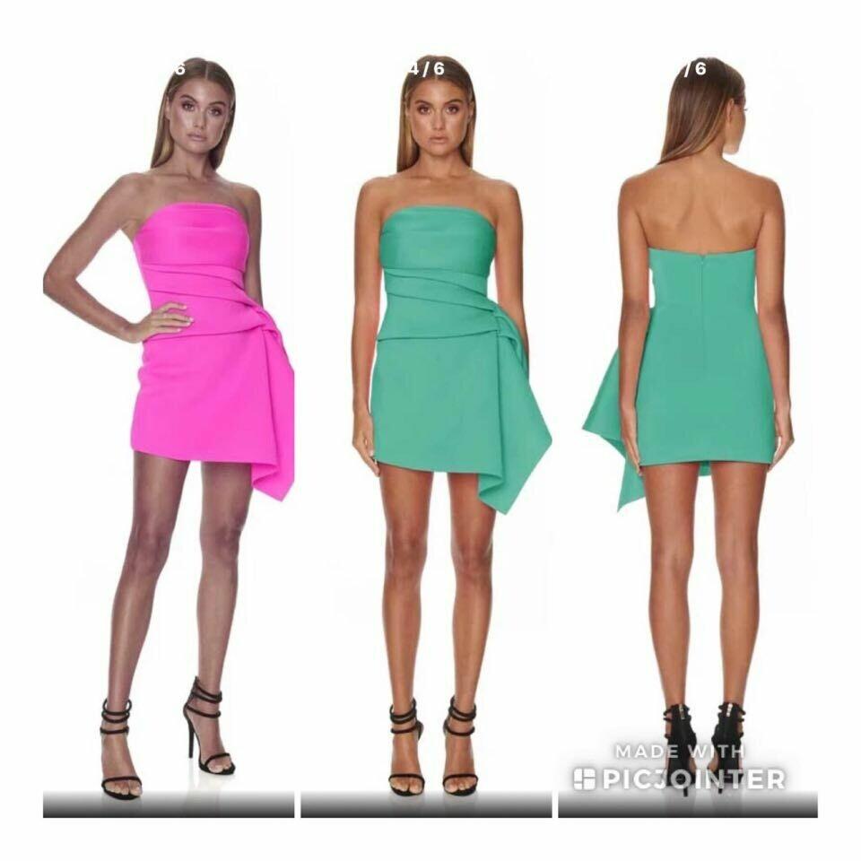 Pink Scuba Dress