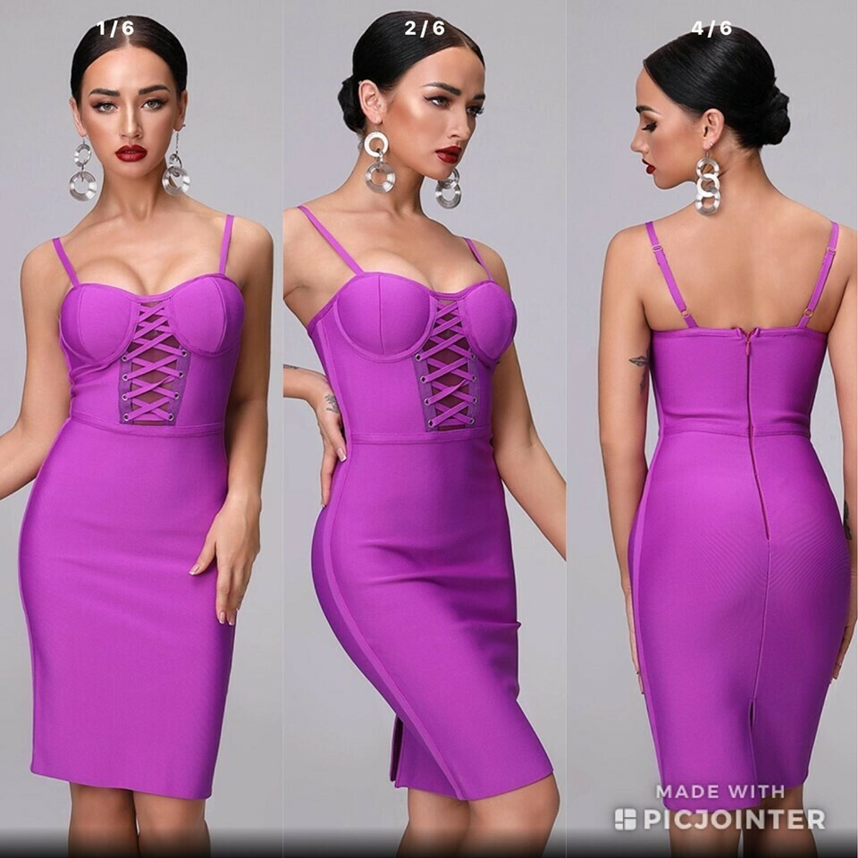 Small ONLY ONE Bandage Dress