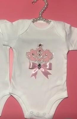 Pink Crown Onsie