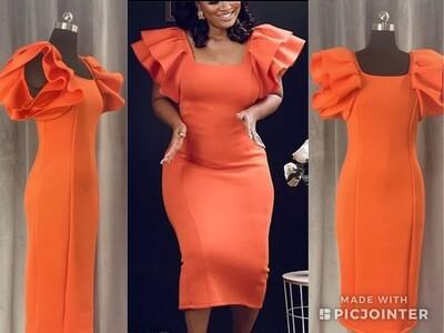 Scuba Fabric Dress