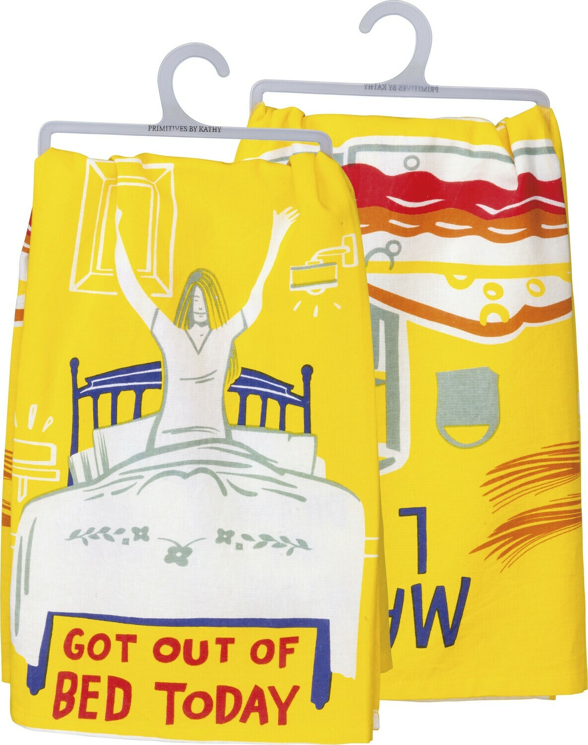 Dish Towel - Go Out Of Bed Today