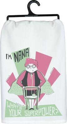 Dish Towel -I'm Nana