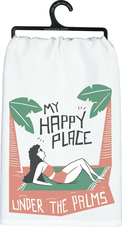 Dish Towel -My Happy Place