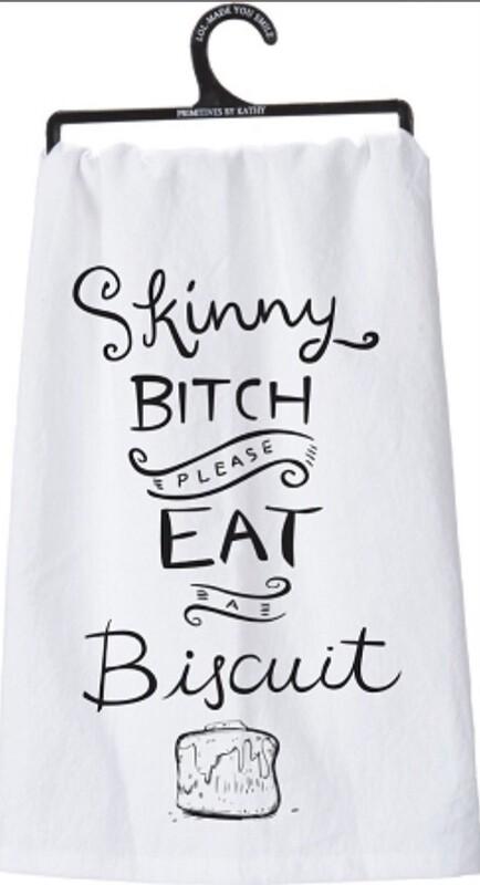 Dish Towel -Skinny Bitch