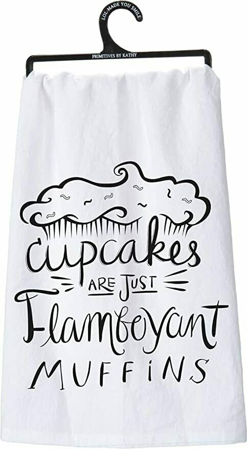 Dish Towel -Cupcakes Are