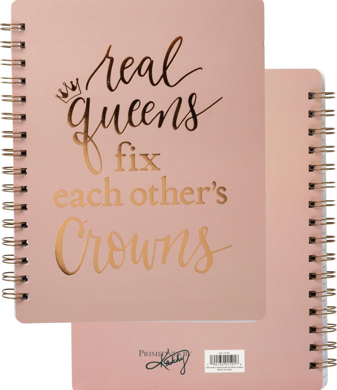 Notebook - Real Queens