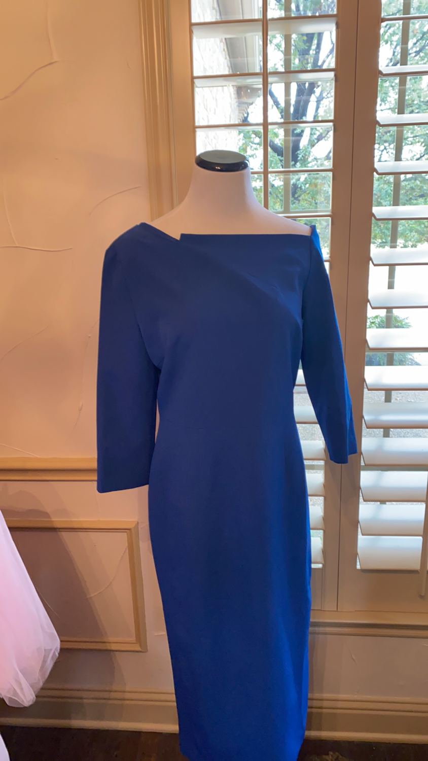 ONLY ONE Blue jersey dress