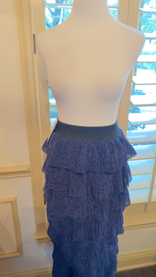 ONLY ONE Long midnight blue skirt