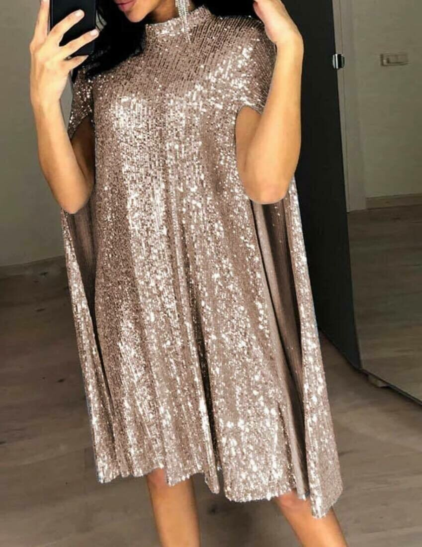 ONLY ONE sequin part dress