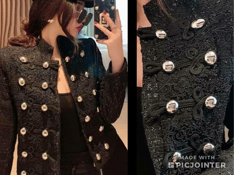2-piece tweed suit