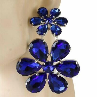 clip on flower earring