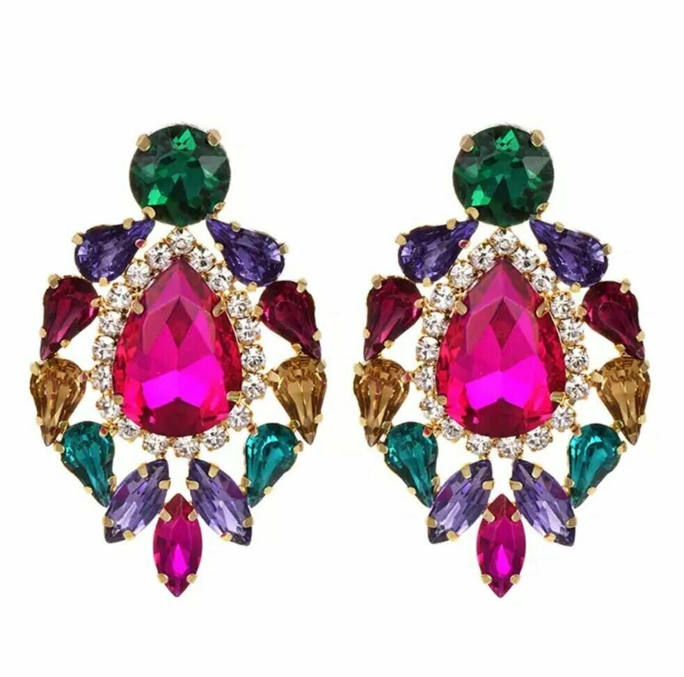 multi color earring
