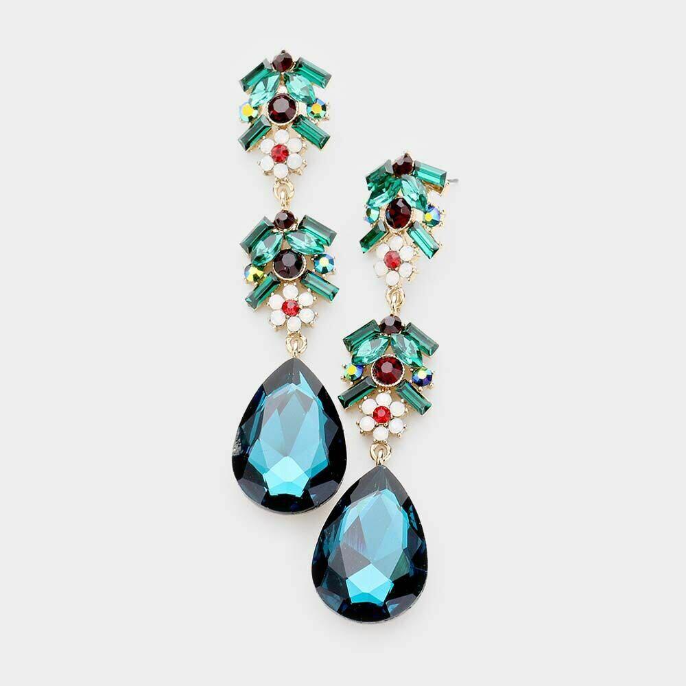green earring