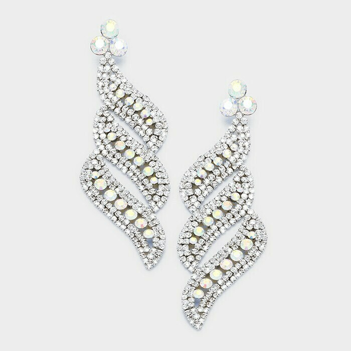 AB pageant earring