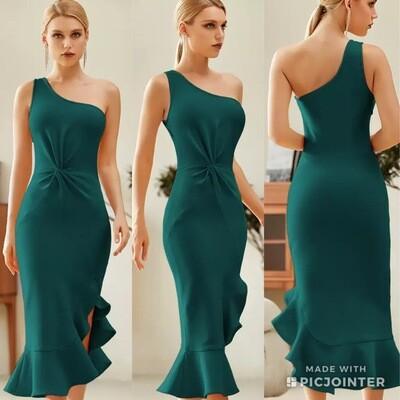 Green Bandage Dress