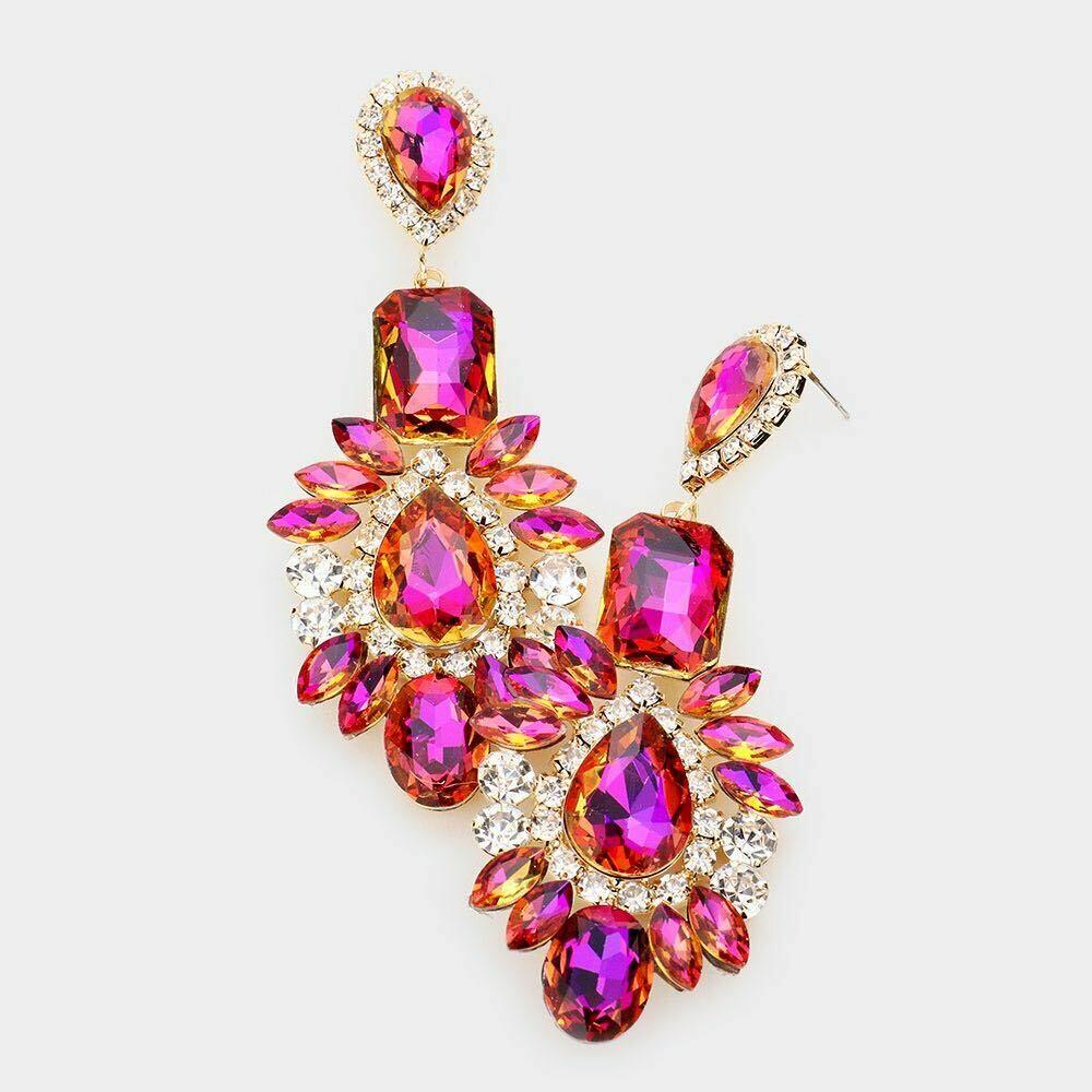 pink earring