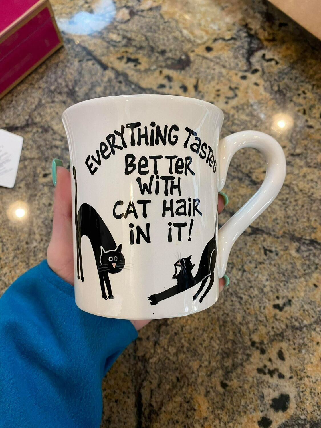 cat coffee mug ONLY ONE
