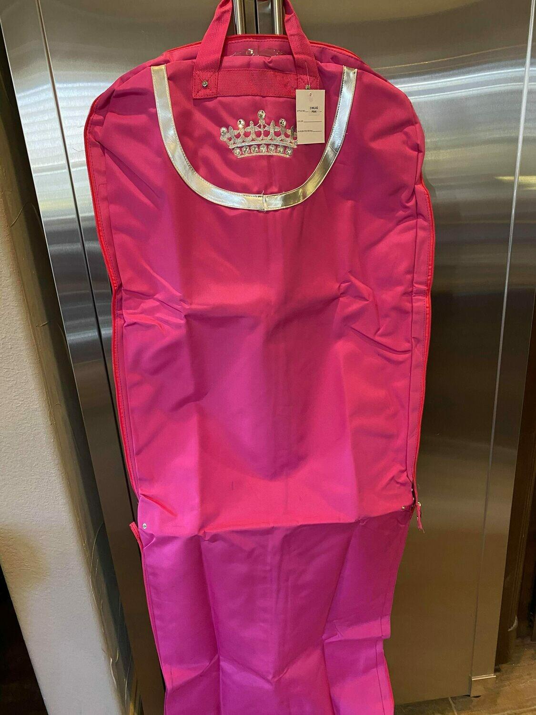 pink crown dress bag (6 left)