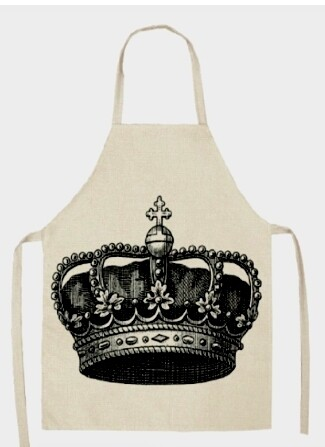 Crown Apron (Adult and Child Sizes)