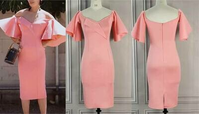 Crape dress