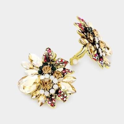 Flower clip on