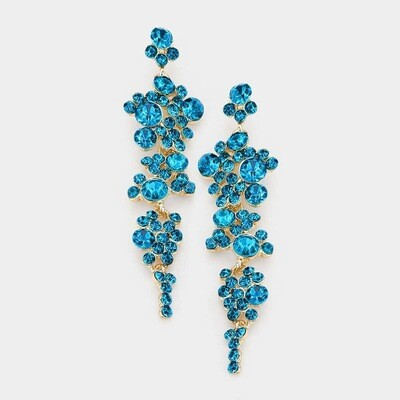 Turquoise Pageant Earring
