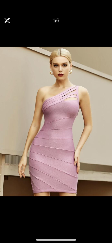 Mauve Bandage dress