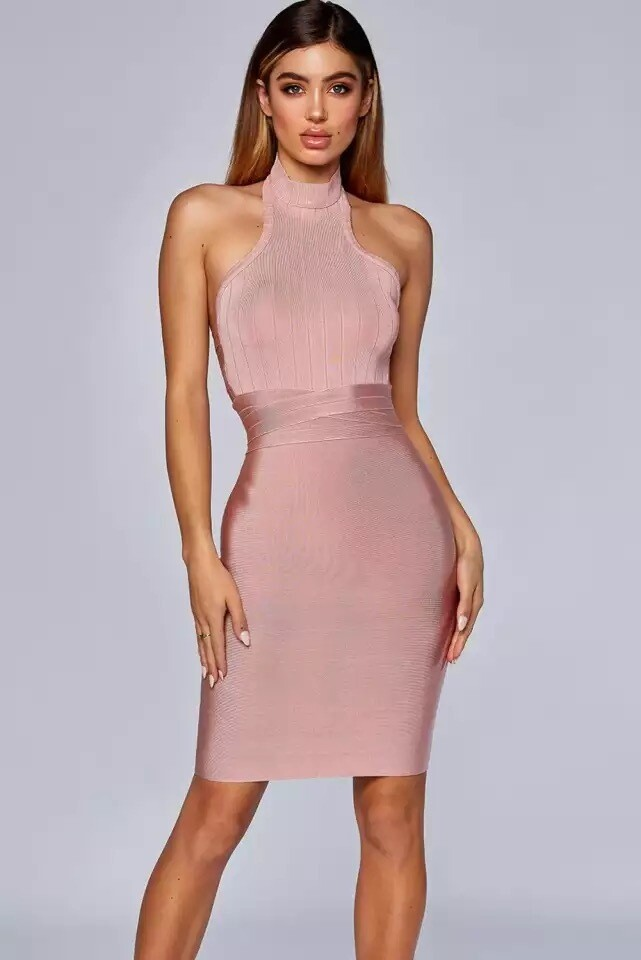 Bandage dress Halter