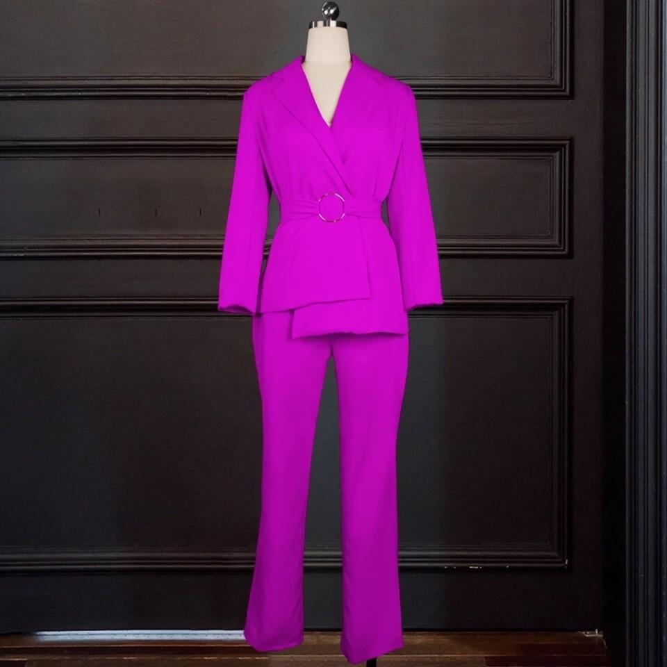 Purple two piece