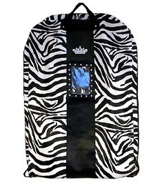 Zebra Gown Bag