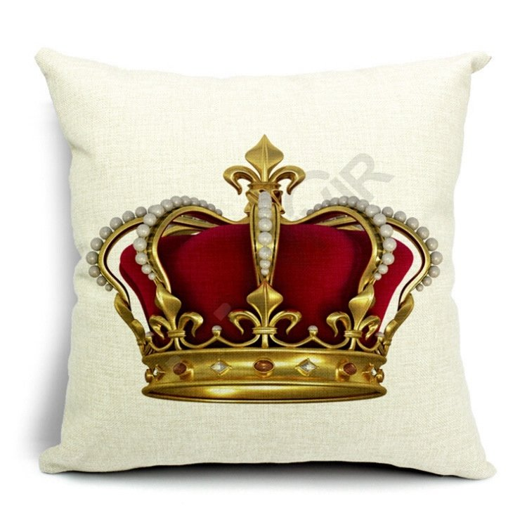 Crown Pillow Cover