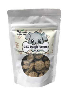 Dog Treats 2.5mg of CBD per piece
