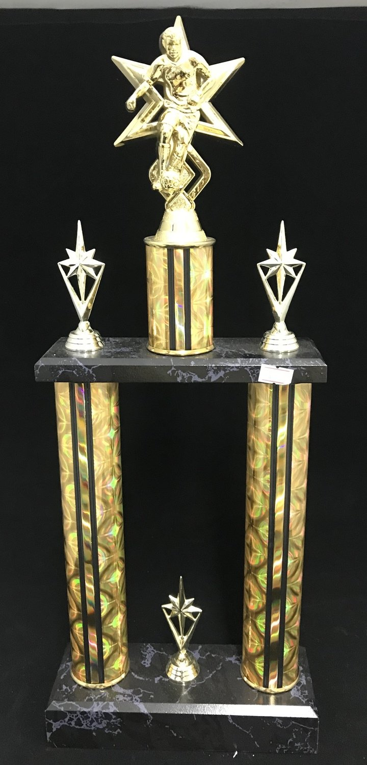 "2 Post Trophy, 24"" FREE SHIPPING"