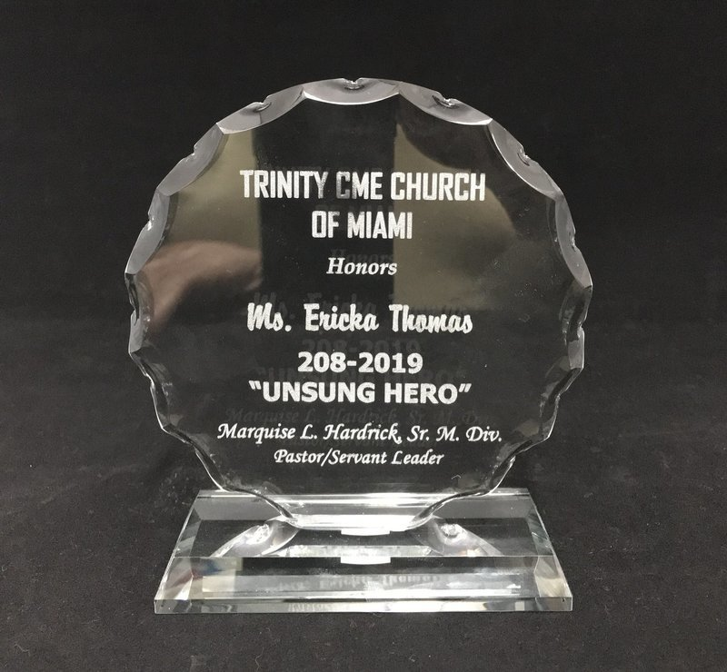 Glass Round Award 6