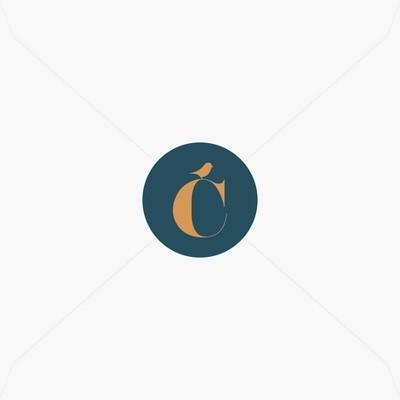 Stickers de naissance lettre prénom et petit oiseau