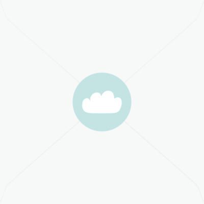 Stickers de baptême petit nuage pour garçon
